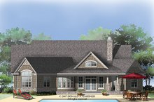 Traditional Exterior - Rear Elevation Plan #929-911