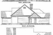 Farmhouse Style House Plan - 5 Beds 4 Baths 2716 Sq/Ft Plan #17-457 Exterior - Rear Elevation