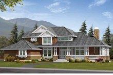 Architectural House Design - Craftsman Exterior - Front Elevation Plan #132-233