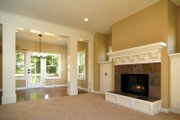 Country Style House Plan - 3 Beds 2.5 Baths 1929 Sq/Ft Plan #928-96 Interior - Family Room