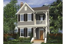 Dream House Plan - Contemporary Exterior - Front Elevation Plan #48-868