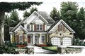 Traditional Style House Plan - 3 Beds 2.5 Baths 1818 Sq/Ft Plan #927-245 Exterior - Front Elevation