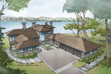 Contemporary Exterior - Front Elevation Plan #928-261