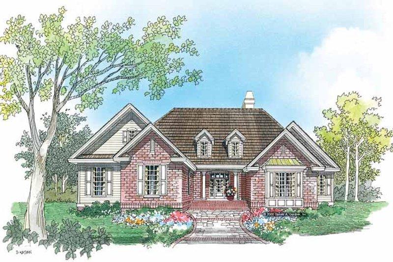 Ranch Exterior - Front Elevation Plan #929-582 - Houseplans.com
