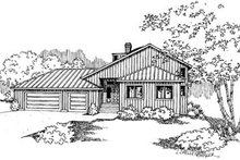 Traditional Exterior - Front Elevation Plan #60-577