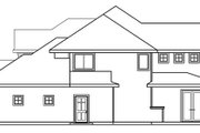 Craftsman Style House Plan - 5 Beds 3.5 Baths 3596 Sq/Ft Plan #124-481 Exterior - Other Elevation