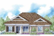 Country Exterior - Front Elevation Plan #938-40