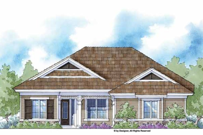 Country Exterior - Front Elevation Plan #938-40 - Houseplans.com