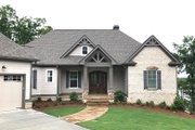 Craftsman Style House Plan - 4 Beds 3.5 Baths 3041 Sq/Ft Plan #437-76 Exterior - Front Elevation