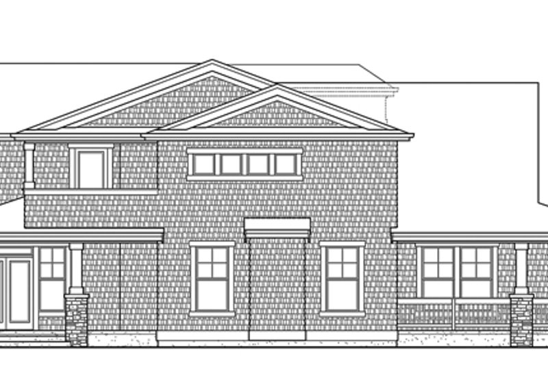 Country Exterior - Other Elevation Plan #132-497 - Houseplans.com