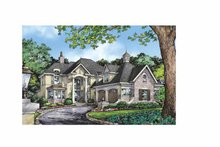 Architectural House Design - European Exterior - Front Elevation Plan #929-863