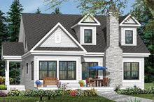 Country Exterior - Front Elevation Plan #23-2241