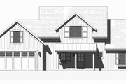Farmhouse Style House Plan - 3 Beds 2.5 Baths 1930 Sq/Ft Plan #901-132 Exterior - Front Elevation