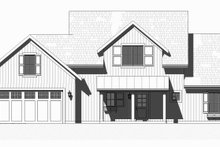 Dream House Plan - Farmhouse Exterior - Front Elevation Plan #901-132