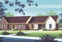 Traditional Exterior - Front Elevation Plan #45-393