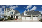 Craftsman Style House Plan - 5 Beds 4.5 Baths 5026 Sq/Ft Plan #928-229 Exterior - Front Elevation