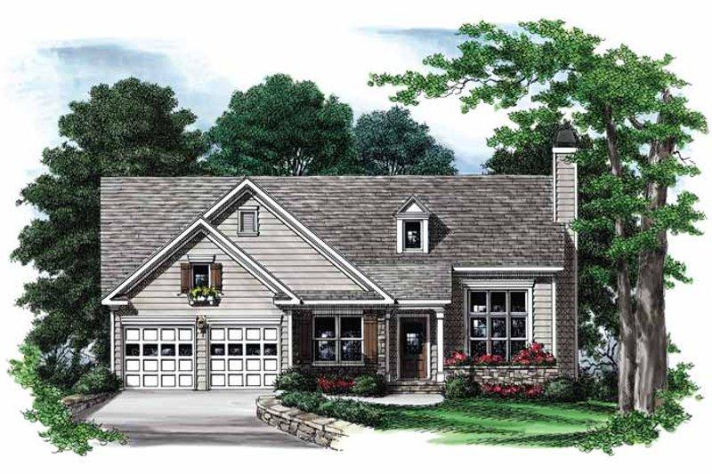 Ranch Exterior - Front Elevation Plan #927-554 - Houseplans.com