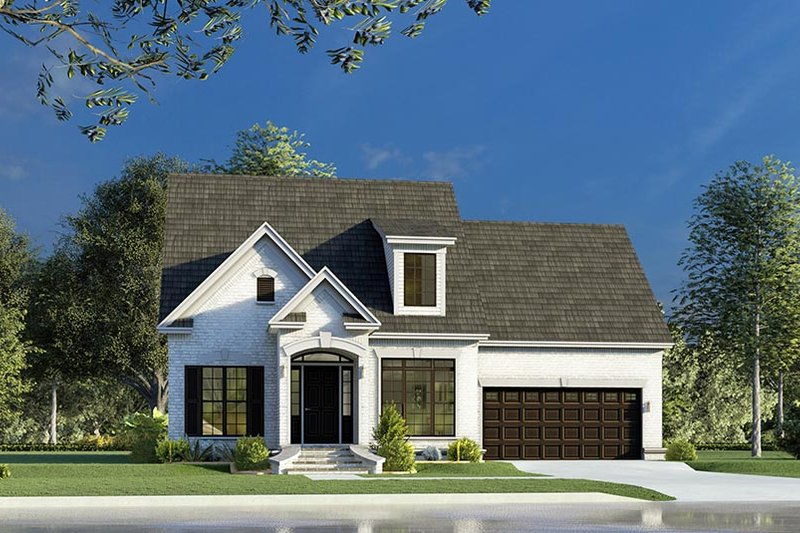 Dream House Plan - Traditional Exterior - Front Elevation Plan #923-191