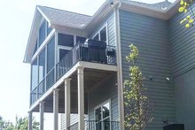 Dream House Plan - Craftsman Exterior - Rear Elevation Plan #437-94