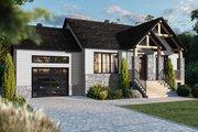 Craftsman Style House Plan - 2 Beds 1 Baths 1178 Sq/Ft Plan #23-2728