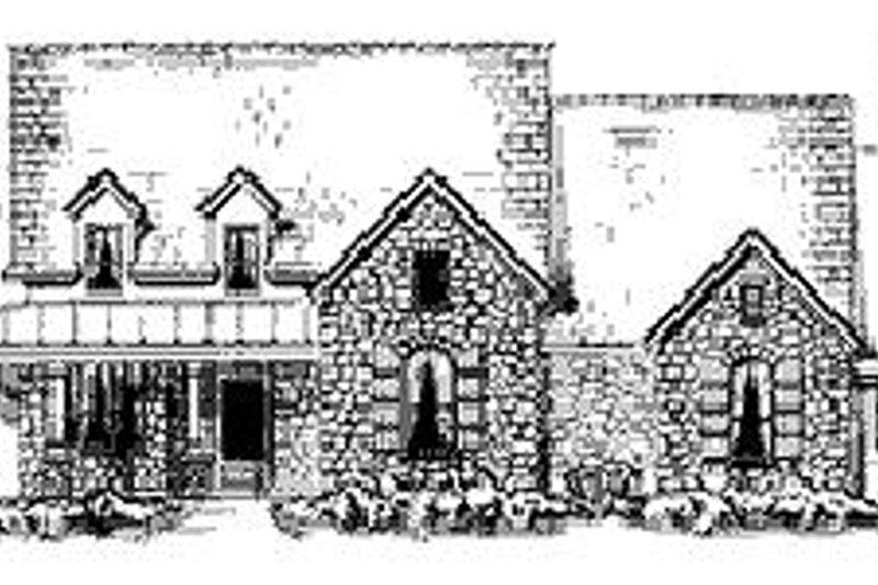 Dream House Plan - European Exterior - Front Elevation Plan #410-174