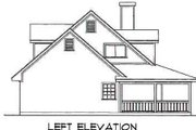Farmhouse Style House Plan - 4 Beds 3 Baths 2143 Sq/Ft Plan #40-328 Exterior - Other Elevation
