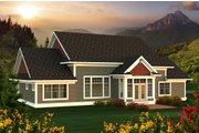 Farmhouse Style House Plan - 3 Beds 2.5 Baths 2495 Sq/Ft Plan #70-1172 Exterior - Rear Elevation