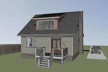 Dream House Plan - Cabin Exterior - Other Elevation Plan #79-192