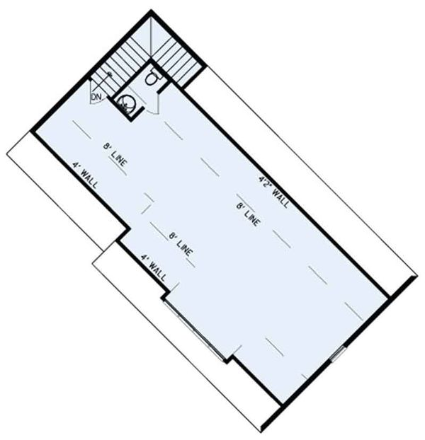 Ranch Floor Plan - Other Floor Plan Plan #17-3404