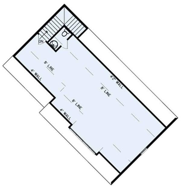 Ranch Floor Plan - Other Floor Plan Plan #17-3404