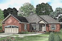 Architectural House Design - Ranch Exterior - Front Elevation Plan #17-3225