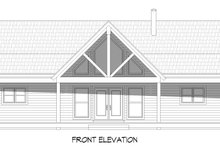 Dream House Plan - Country Exterior - Front Elevation Plan #932-361