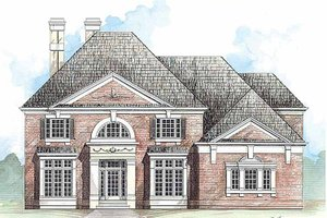 House Design - Classical Exterior - Front Elevation Plan #119-371