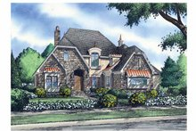 House Design - Cottage Exterior - Front Elevation Plan #929-841
