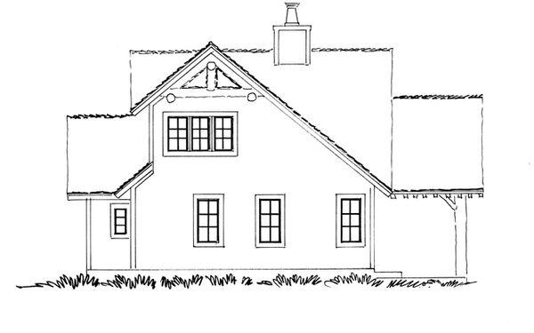 Craftsman Floor Plan - Other Floor Plan Plan #942-17
