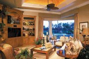 Mediterranean Style House Plan - 3 Beds 4.5 Baths 5199 Sq/Ft Plan #930-314 Interior - Family Room