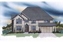 Traditional Exterior - Front Elevation Plan #509-380