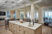 Country Style House Plan - 2 Beds 2.5 Baths 2557 Sq/Ft Plan #928-297 Interior - Kitchen