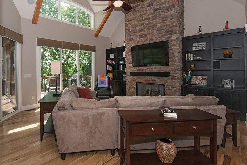 Craftsman Interior - Family Room Plan #929-407 - Houseplans.com
