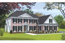 House Design - Classical Exterior - Front Elevation Plan #328-439