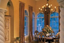 House Plan Design - Mediterranean Interior - Dining Room Plan #930-34