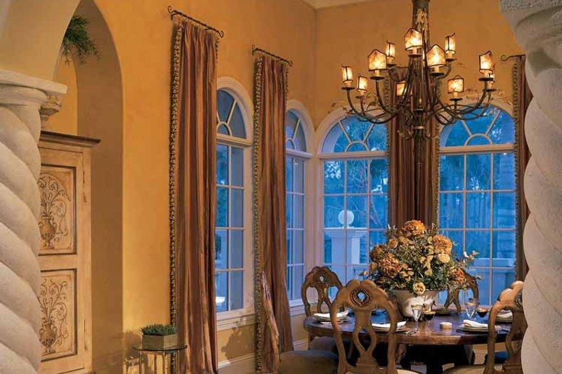 Mediterranean Interior - Dining Room Plan #930-34 - Houseplans.com