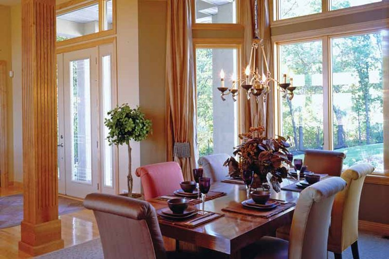 European Interior - Dining Room Plan #51-1094 - Houseplans.com