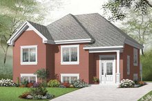House Design - European Exterior - Front Elevation Plan #23-2388