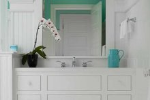 Colonial Interior - Bathroom Plan #928-179