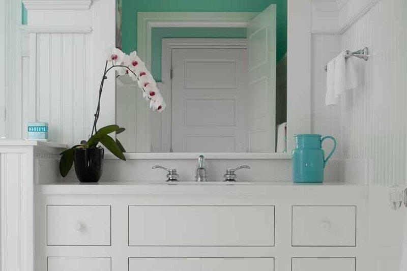 Colonial Interior - Bathroom Plan #928-179 - Houseplans.com