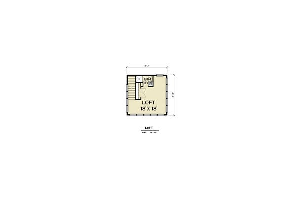 Farmhouse Floor Plan - Other Floor Plan Plan #1070-74