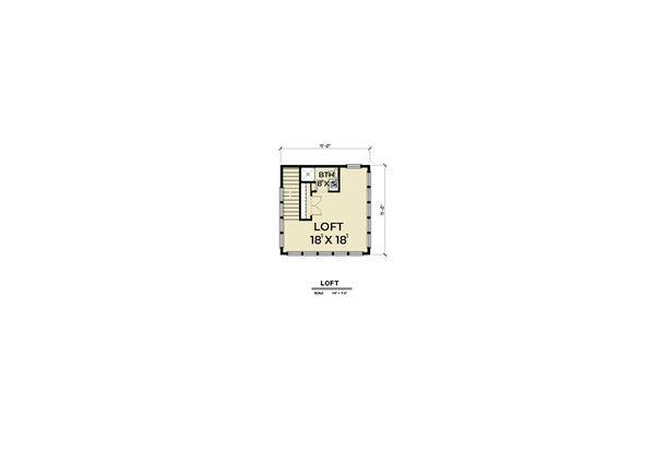 Home Plan - Farmhouse Floor Plan - Other Floor Plan #1070-74