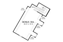 Cottage Floor Plan - Other Floor Plan Plan #929-992