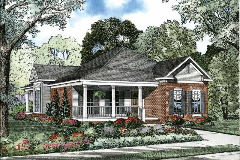 Dream House Plan - Colonial Exterior - Front Elevation Plan #17-2886